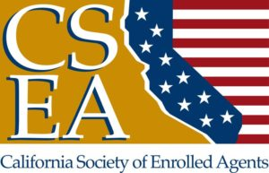The logo of the California Society of Enrolled Agents.